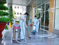 Dịch vụ chà sàn - đánh bóng sàn
