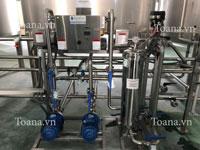 Hệ thống xử lý nước khoáng đóng chai