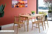 Set bàn ăn Ristar tự nhiên