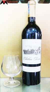Rượu vang Pháp đỏ Chateau Fayau Cadilac