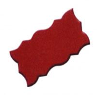 Gạch con sâu màu đỏ