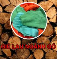 Giẻ lau ngành gỗ