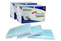 Khẩu trang y tế kháng khuẩn cao cấp TDCare 4 lớp xanh