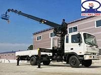 Xe cẩu tự hành Hyundai 5 tấn
