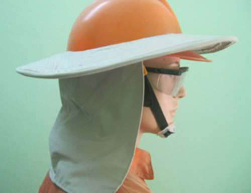 Mũ bảo hộ kết hợp chống nắng