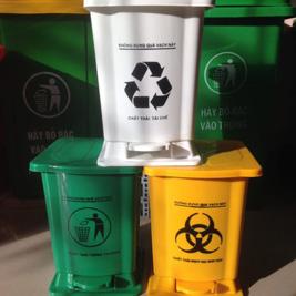 Thùng rác HDPE