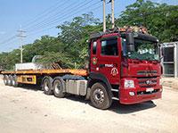 Vận chuyển hàng hóa bằng xe đầu kéo