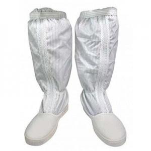 Giày ủng chống tĩnh điện màu trắng