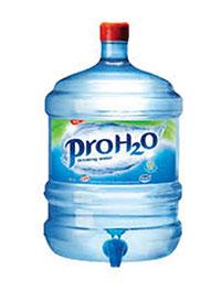 Nước uống đóng bình thương hiệu riêng
