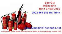 Kiểm định an toàn bình chữa cháy