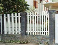 Khung hàng rào sắt