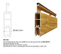 Cửa cuốn vân gỗ