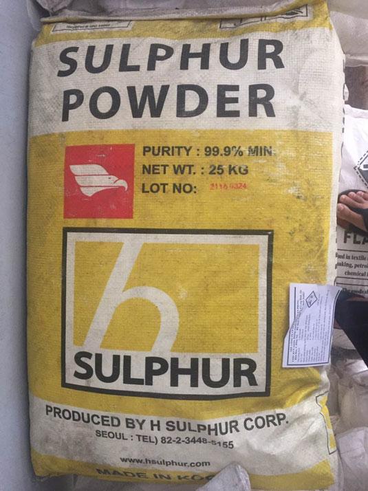 Lưu huỳnh sulfur