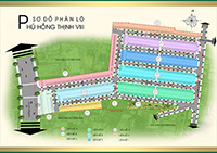 Sơ đồ dự án Phú Hồng Thịnh 8