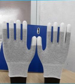 Găng tay PU phủ ngón chống tĩnh điện