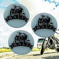 Logo dán xe máy