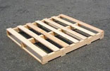 Pallet gỗ 1 mặt 4 chiều nâng