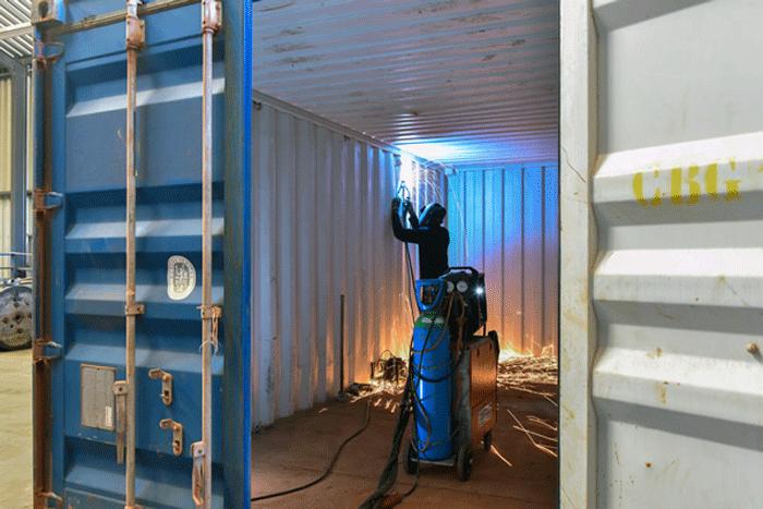 Bảo trì Container