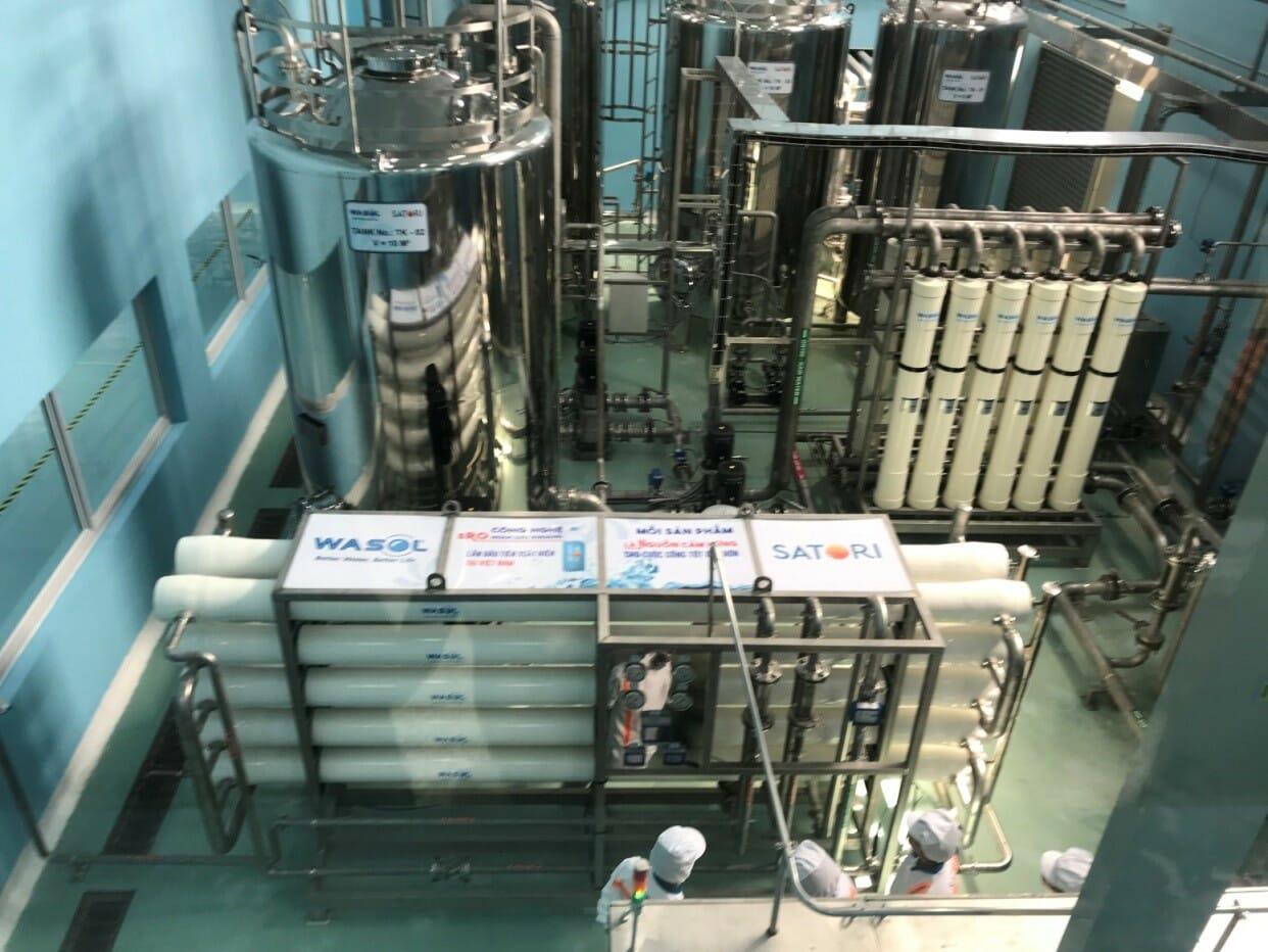 Hệ thống lọc nước hoàn luu kháng