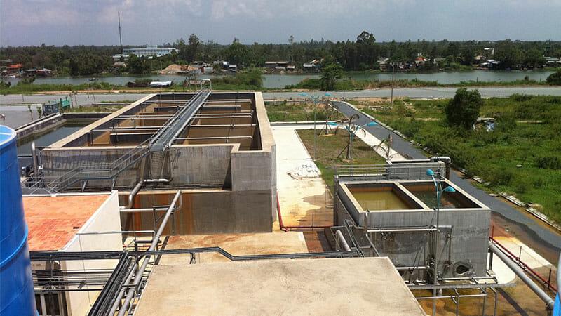 Hệ thống xử lỹ nước thải ngành giấy