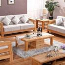 Bàn ghế sofa gỗ sồi