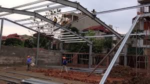 Gia công lắp dựng thép