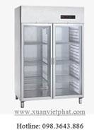 Tủ lạnh mát 2 cánh kính
