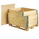 Thùng gỗ lắp ghép xếp tầng