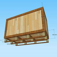Thùng gỗ theo thiết kế