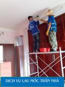 Dịch vụ lau mốc trần nhà
