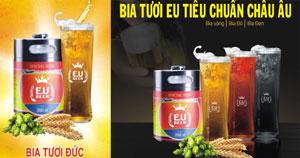 Bia tươi EU vàng