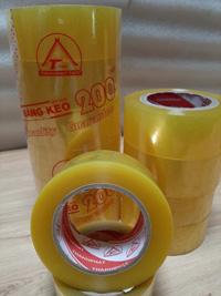 Băng keo trong màu vàng chanh