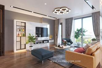 Thiết kế nội thất phong cách hiện đại