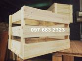 Thùng gỗ gấp tự nhiên