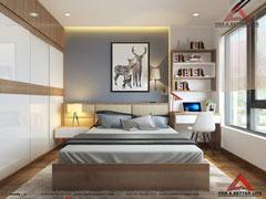 Thiết kế nội thất phòng ngủ Anh Xuân