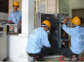 Xây lắp điện công trình sinh hoạt