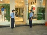 Bảo vệ cửa hàng shop quán ăn
