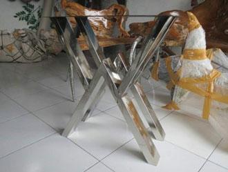 Bàn ghế inox