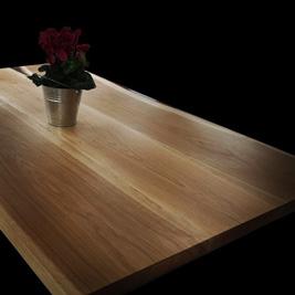 Xẻ phôi mặt bàn gỗ sồi