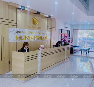 Setup văn phòng công ty Hưng Phước