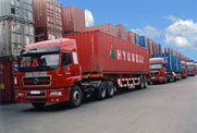 Vận tải hàng hóa các tỉnh Miền Bắc
