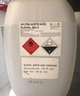 Axit axetic – Acetic acid