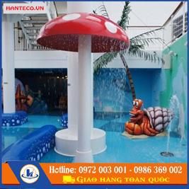 Nấm phun nước bể bơi