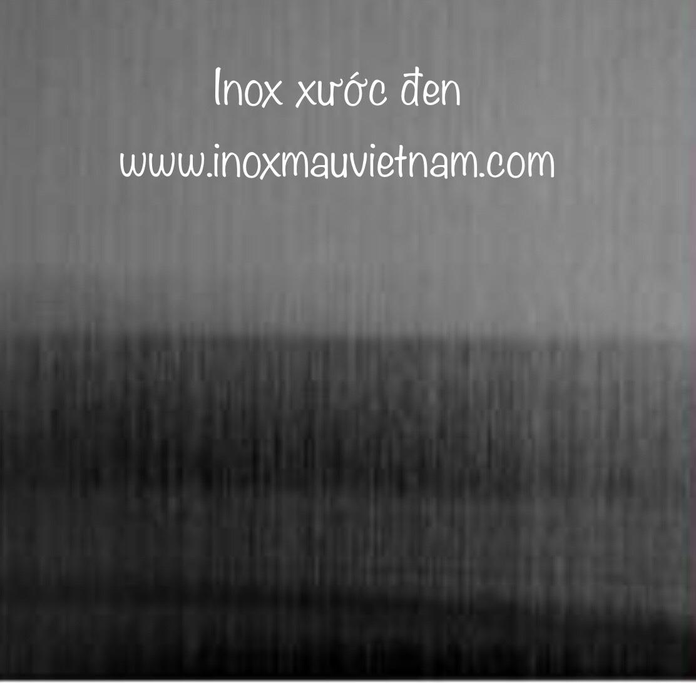 Inox Xước Đen