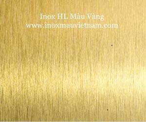 Inox HL Màu Vàng