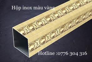 Hộp Inox Màu Vàng