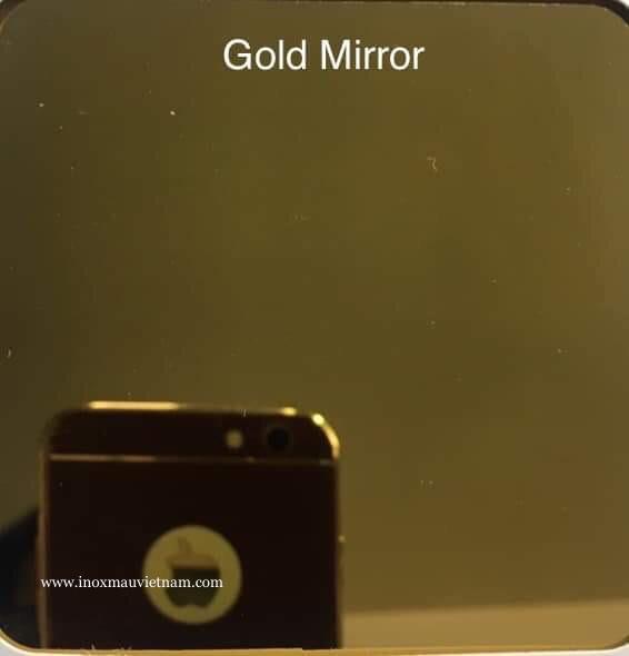Inox Màu Gold Mirror