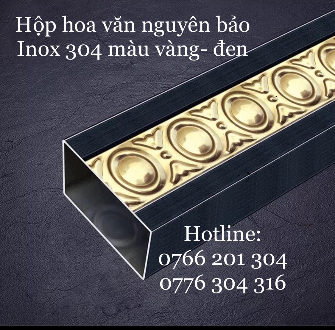 Inox 304 Màu Vàng - Đen