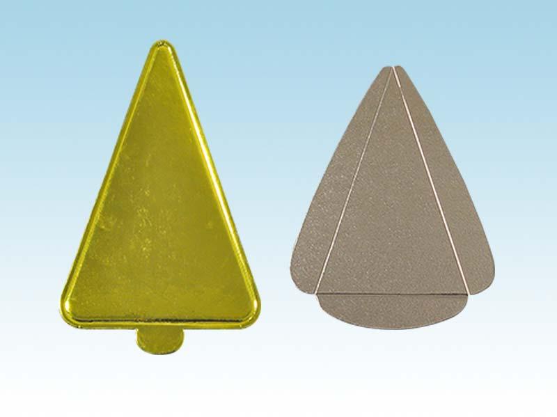 Khay giấy tam giác