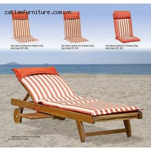 Cushion for Sunlounger